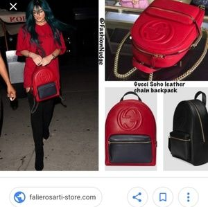 fa6092ee402c Gucci Bags - Gucci Soho leather backpack. With authentici card.